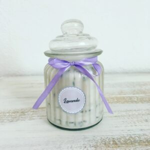 LAVENDER OF PROVENCE – Natural Scented Candle – 250g