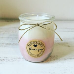 CHERRY BLOSSOM Natural Coloured Scented Candle – 116g
