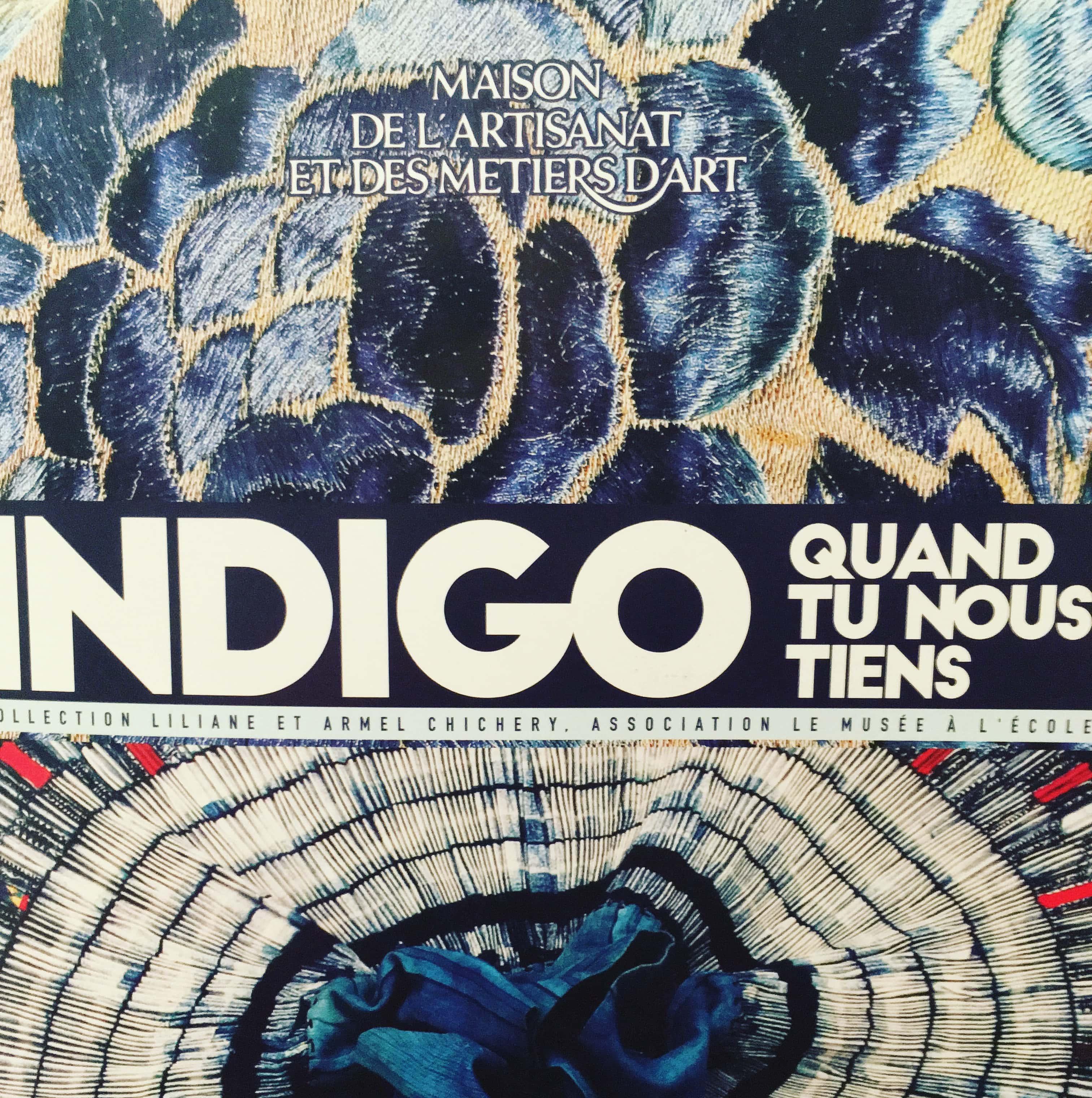 Expo: Indigo quand tu nous tiens à Marseille