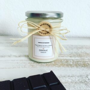CHOCOLATE – Natural Scented Candle in Glass Jar – 170g