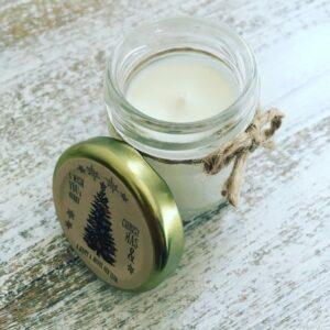 Mini Bougie Parfumée Kraft I WISH YOU A MERRY CHRISTMAS