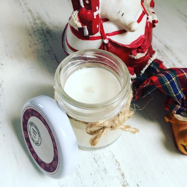 Mini Bougie Parfumée de Noël PÔLE NORD VINTAGE