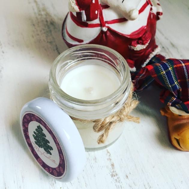 Mini Bougie Parfumée de Noël SAPIN VINTAGE