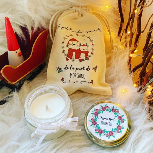 Bougie parfumée noel cadeaux2